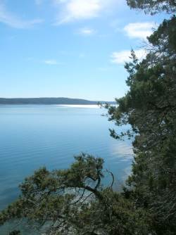 Norfork Lake in the Ozark Mountains